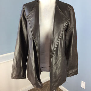 Enygma S 4 6 Brown Genuine Leather Open jacket